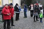 Setkání po 30 letech od otevření hranic v Bavorské Rudě.