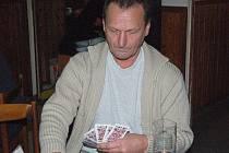 Klatovský mariášník Vlastimil Šubert.