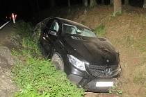 Nehoda u Chudenína.