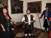 Oživené prohlídky na zámku v Chudenicích.