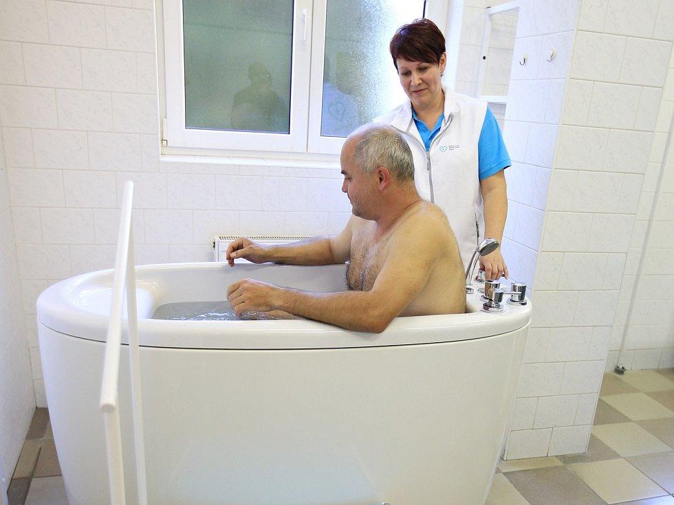 Rehabilitace v Horažďovicích.
