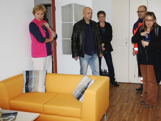 Zrekonstruované prostory pro lékaře a sestry ZZS v Sušici.