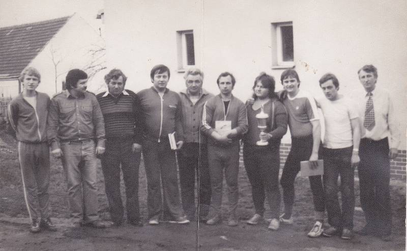 Fotografie z historie Zbyslavi.