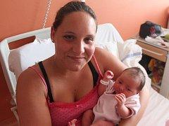 Kristýna Václavková z Nepomuku (3380 gramů, 51 cm) se narodila v klatovské porodnici 27. července v 15.27 hodin. Rodiče Kateřina a Radek přivítali očekávanou dcerku na svět společně.