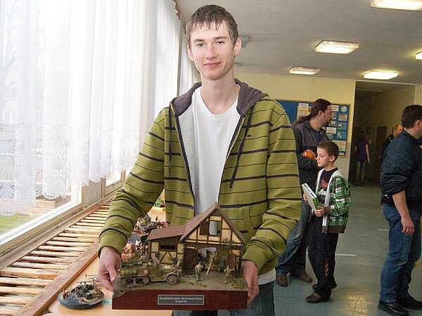 Vyhlášení modelářské soutěže na ZŠ Tolstého ul. v Klatovech