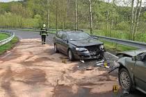 Nehoda u Čepic.