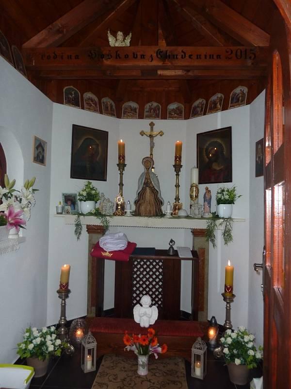 Pouť ke cti sv. Ludmily v Chudeníně.