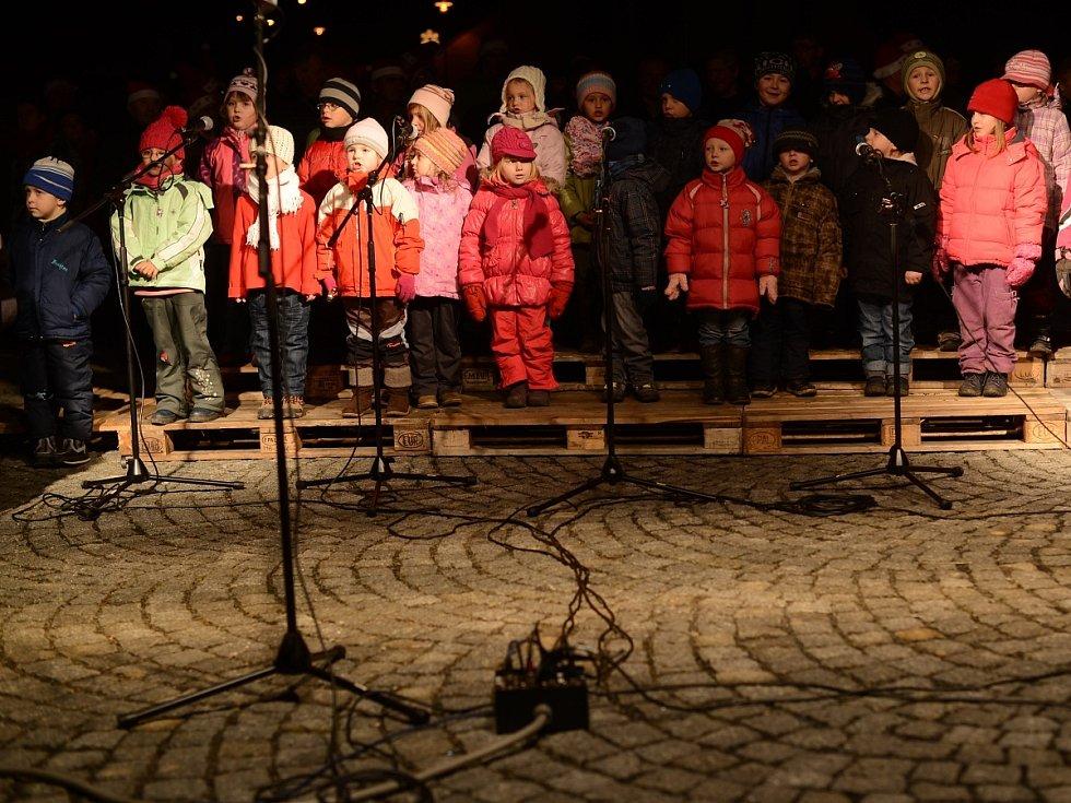 Mužský pěvecký sbor zazpíval ve Strážově