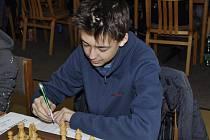 Klatovský šachista Tomáš Hurdzan.