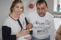 Nikola Jankulárová z Klatov se narodila v klatovské porodnici 8. dubna v 15.43 hodin. Vážila 2900 gramů a měřila 48 cm. Rodiče Edita a Jan věděli dopředu, že budou mít holčičku, a na svět ji přivítali společně. Doma na sestřičku čekají Radek (16), Dominic