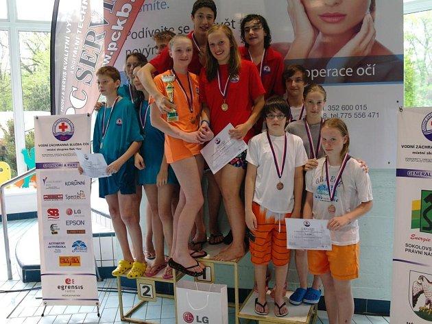 Záchranáři z Klatovska na Mistrovství ČR juniorů v záchranářském sportu v Sokolově