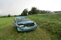 Nehoda u Malé Vísky.