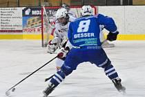 Liga juniorů HC Klatovy - HC Berounští Medvědi 2:5.
