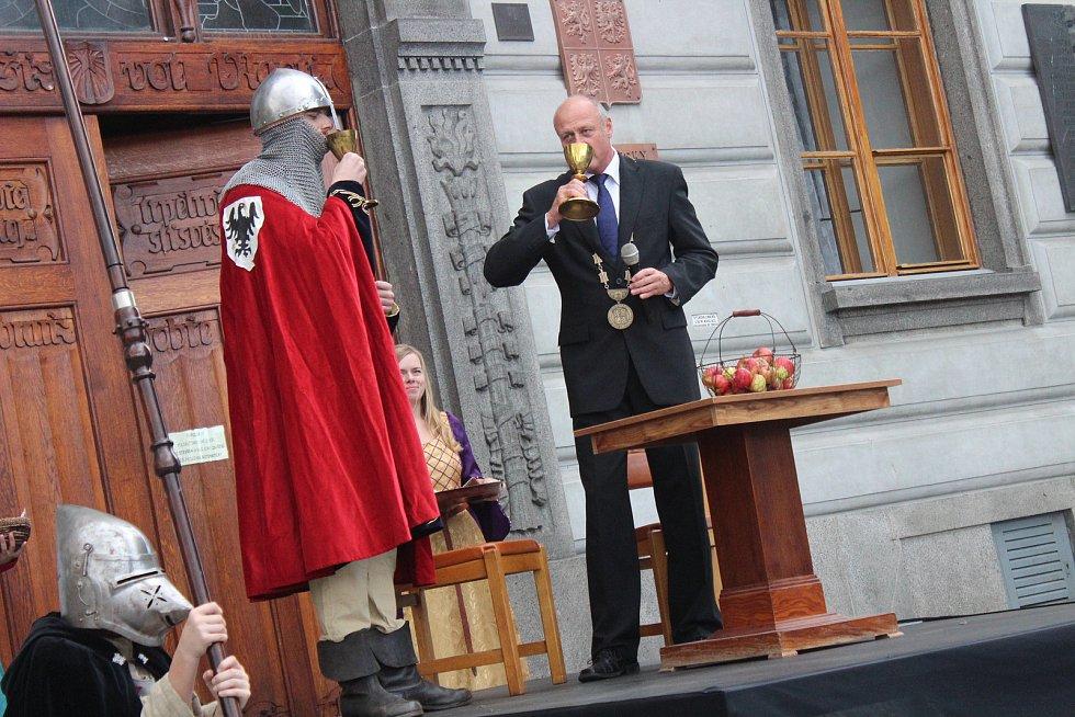 Svatováclavské oslavy v Klatovech.