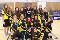 Horažďovické florbalistky skončily letos v krajském finále na třetím místě.