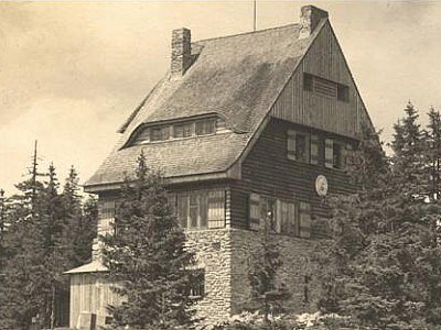Juránkova chata v první polovině 20. století.