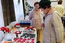 Vánoční výstava v klatovském Klubu seniorů