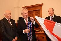 Návštěva prezidenta Miloše Zemana v Klatovech