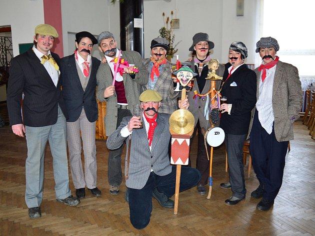 Masopust v Myslívě 2015