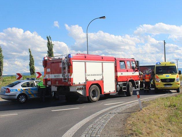Dopravní nehoda u Beňov.