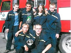 Družstvo mužů SDH Týnec u Klatov
