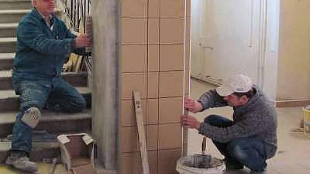 Stavební úpravy v základní škole v Plánici