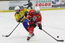 Liga starších žáků: HC Klatovy (červené dresy) - HC Motor České Budějovice 5:3