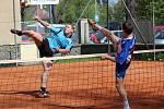 I. liga 2017: Horažďovice (modré dresy) - Start Praha 5:5