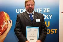 Miroslav Kůs z Kašperských Hor se stal živnostníkem roku Plzeňského kraje 2013