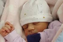Josefína Němečková zKlenčí pod Čerchovem se narodila vklatovské porodnici 28. srpna v18:37 hodin (2600 g, 48 cm). Pohlaví svého prvorozeného potomka si rodiče Tereza a Lukáš nechali jako překvapení až na porodní sál.