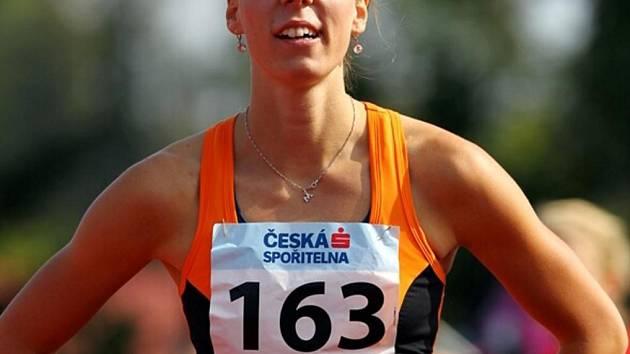 Klatovská sprinterka Martina Štychová na MČR do 22 let.