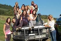 Modelky z agentury Delija models natáčely v Kocourově videoklip