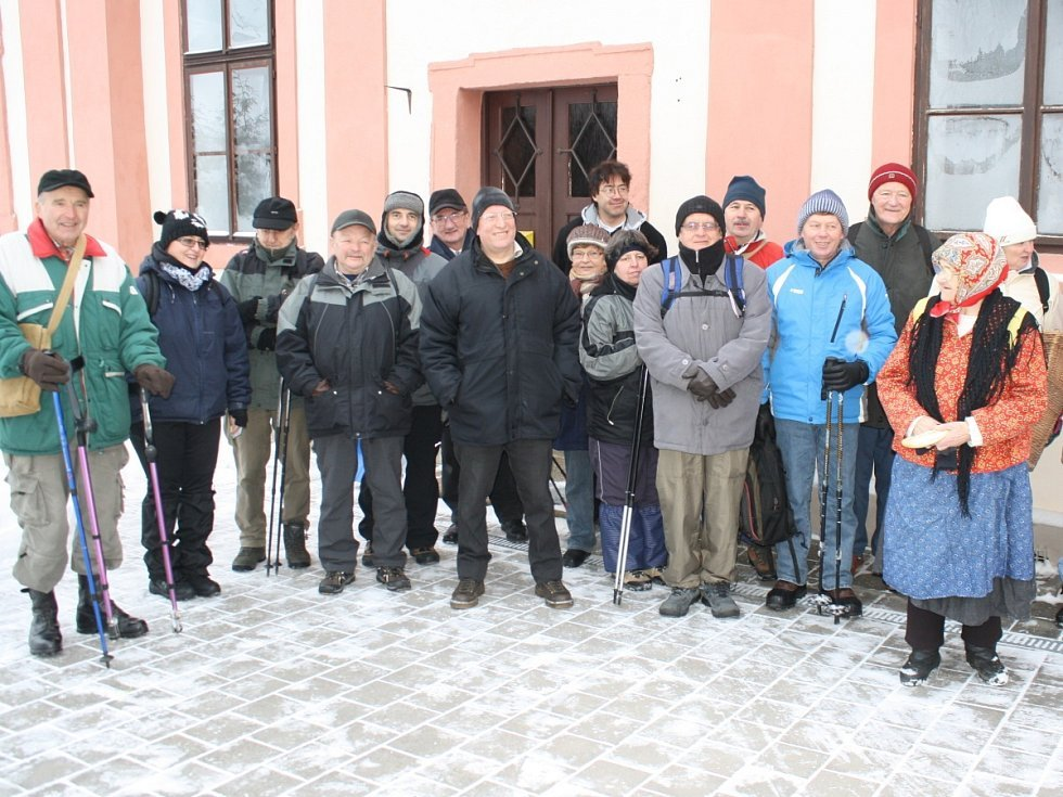 IX. Zimní pochod Křižíkovo stezkou z Plánice do Klatov 19. 1. 2013