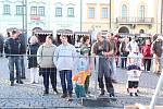 Farmářské trhy spojené se zabijačkovými hody v Klatovech.