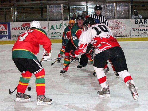 Hokej: Malá Víska - Přimda