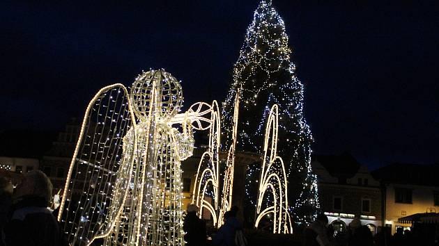 Vánoční trhy v Sušici.