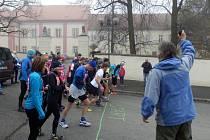 Běh okolo Práchně 2017 v Horažďovicích.