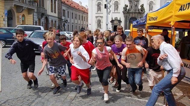V Klatovech se konal 16. června propagační běh k 750. výročí města Klatov, který pořádal Triatlon klub Klatovy.