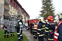 Cvičení nýrských a neukirchenských hasičů