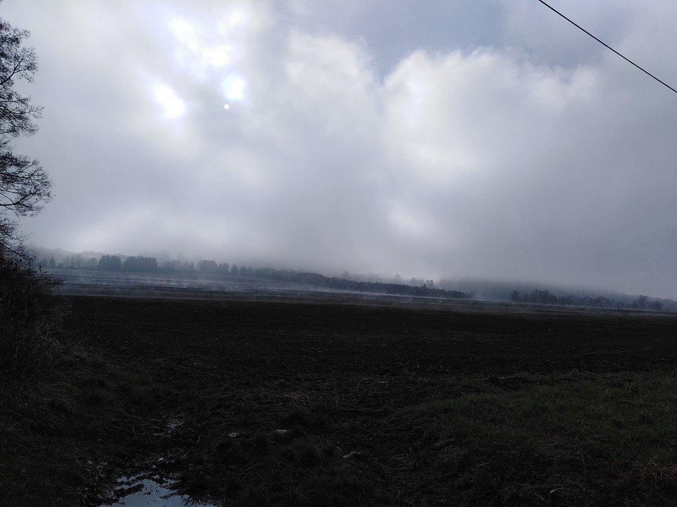 Sobotní dopoledne na Šumavě a na Klatovsku.