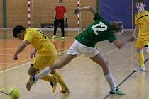 Dorostenecký turnaj TJ Sokol Mochtín: Petřín Plzeň (zelené dresy) - Mochtín B 2:0