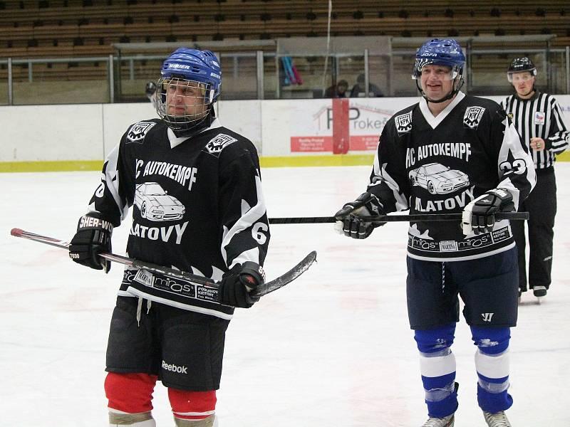 Šumavská liga amatérského hokeje měla na programu 2. kolo.