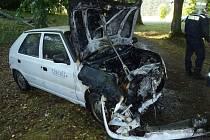 Dopravní nehoda u Chanovic.