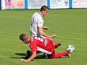 Divize 2017/2018: Klatovy (červené dresy) - Aritma Praha 2:0