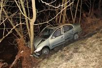 Dopravní nehoda u Radešova 2016