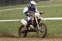 Jan Michal, vítěz kategorie Junior na motocyklu KTM 250EXC.