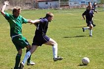 Fotbalové utkání Žichovice - Pačejov