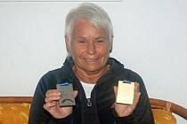 Mistryně Evropy Jarmila Hummelová a její dvě medaile z Poreče.