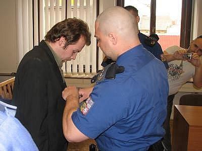Petr Boháček u soudu