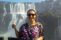 Kajakářka Karolína Galušková je už v dějišti mistrovství světa v Brazílii.